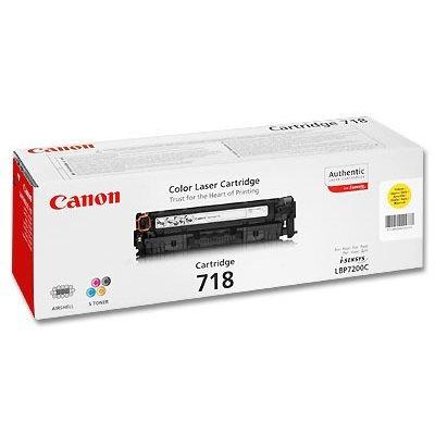 Картридж Canon 718 желтый (2659B002) цена