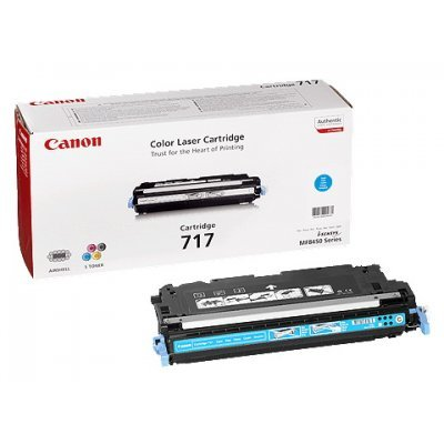 Картридж (2577B002) Canon 717 Синий (2577B002)Тонер-картриджи для лазерных аппаратов Canon<br>Для Canon MF8450. Ресурс 4000 стр<br>
