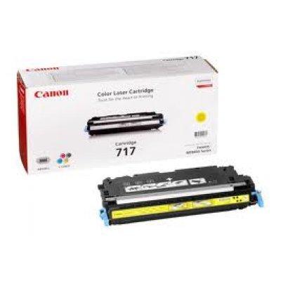 Картридж (2575B002) Canon 717 желтый (2575B002) каркам kam 2575