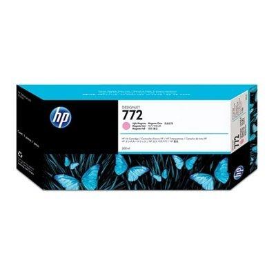 Картридж HP № 772 (CN631A) Lt Magenta (CN631A)Картриджи для струйных аппаратов HP<br>Светло-пурпурный картридж HP  300 мл  для принтеров  HP Designjet Z5200 PostScript Printer (CQ113A)<br>