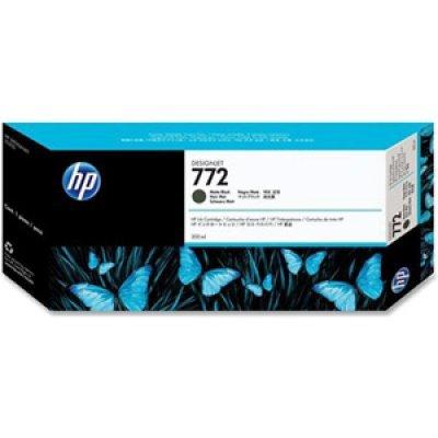 Картридж HP № 772 (CN635A) Matte Black (CN635A)Картриджи для струйных аппаратов HP<br>Картриджи с матовыми черными чернилами HP  300 мл  для принтеров  HP Designjet Z5200 PostScript Printer (CQ113A)<br>
