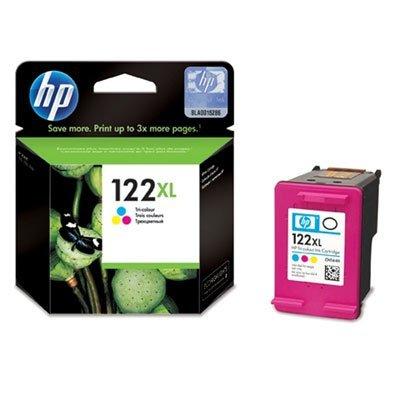 Картридж Hewlett-Packard № 122XL (CH564HE) цветной (CH564HE)Картриджи для струйных аппаратов HP<br>330 страниц, Голубой, пурпурный, жёлтый, для HP Deskjet 1050, HP Deskjet 2050, HP Deskjet 2050s<br>