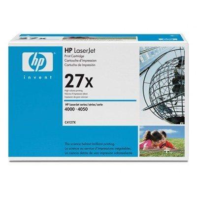 Картридж HP (C4127X) для HP LJ 4000/ 4050 (C4127X)Тонер-картриджи для лазерных аппаратов HP<br>на 10000 стр. Для : HP LaserJet 4050 (C4251A), 4050n (C4253A), 4050t (C4252A), 4050tn (C4254A),<br>4000n (C4120A), 4000se (C3094A), 4000t (C4119A), 4000tn (C4121A),<br>