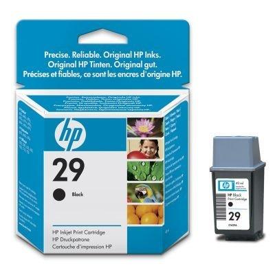 Картридж HP № 29 (51629A)  для DJ 600 Series черный (51629A)Картриджи для струйных аппаратов HP<br>подходит к deskwriter 600/ deskjet (600/660c/670c/690c/695c)/ officejet (500/590/635/ 700/710/725), ресурс при 5% покрытии 650 стр.<br>