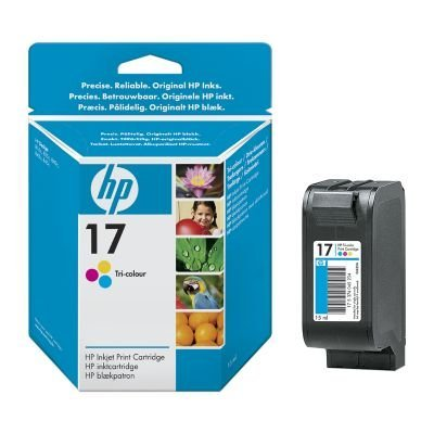 Картридж HP № 17 (C6625AE)  для DJ 840/843 цветной (C6625AE) картридж hp color dj 840c c6625a