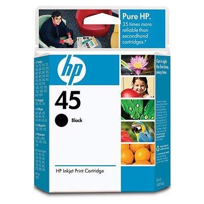 Картридж HP № 45 (51645AE) для DJ 800/7x0/1100/1600/1220c Series черный (51645A)