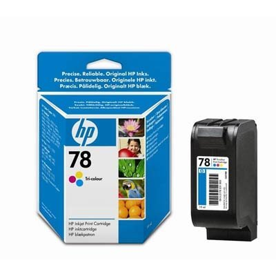 Картридж HP № 78 (C6578DE) для DJ 940c/970/P1000/P1100 цветной (C6578DE) картридж cactus cs c6615 15 черный для hp deskjet 810c 816c 825c 840c 843c 845c 916c 920c 940c 3810 3816 3820 3822 fax 1230 officejet v30 v40 v