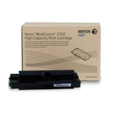 Принт Картридж WorkCentre 3550 повышенной емкости (11000 отпечатков) (106R01531)Тонер-картриджи для лазерных аппаратов Xerox<br>Принт Картридж<br>