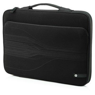 """Сумка для ноутбука HP Black Stram Sleeve WU676AA 10-14"""" черный (WU676AA)"""