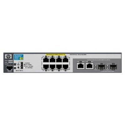 Коммутатор HP ProCurve 2915-8G-PoE (J9562A) (J9562A)