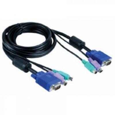 Кабель для переключателя KVM D-Link DKVM-CB5 (DKVM-CB5)Кабели для проводных сетей D-Link<br>5м<br>