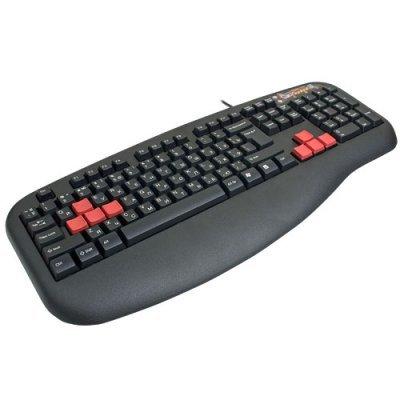 Клавиатура A4Tech X7-G600 PS/2 (G600 PS)Клавиатуры A4-Tech<br>black Fast Gaming waterproof<br>