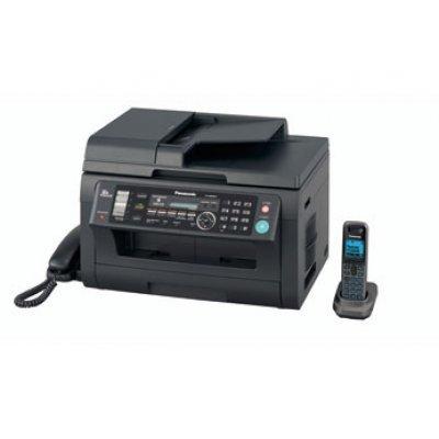 Лазерное МФУ Panasonic KX-MB2061RU-B (KX-MB2061RUB)Монохромные лазерные МФУ Panasonic<br>(принтер/сканер/копир/факс) черное, автоподатчик, DECT, LAN<br>