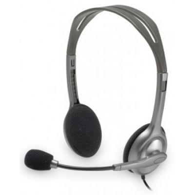 ������������ ��������� Logitech Stereo Headset H110 (981-000271)