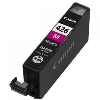 Картридж Canon CLI-426 M (CLI-426M)Картриджи для струйных аппаратов Canon<br>для iP4840, MG5140, MG5240, MG6140, MG8140. Ресурс 447, емкость 9мл. красный(чернильница)<br>