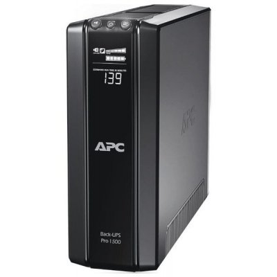 Источник бесперебойного питания APC Power-Saving Back-UPS Pro 900, 230V (BR900GI)Источники бесперебойного питания APC<br>, 900VA/540W, 230V, AVR, 8xC13 outlets ( 4 Surge &amp;amp; 4 batt.), Data/DSL protrct, 10/100 Base-T, USB, PCh, user repl. batt., 2 y warr.<br>