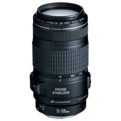 Объектив Canon EF 70-300mm 4-5.6 IS USM / 0345B006 (0345B006)Объективы для фотоаппарата Canon<br><br>