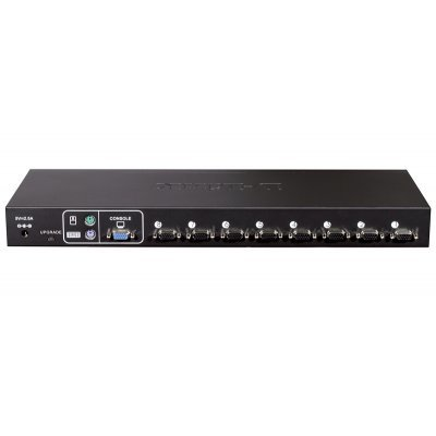 Коммутатор D-Link KVM-440 (KVM-440)Коммутаторы D-Link<br>, Stackable rack mount 8-port KVM Switch<br>