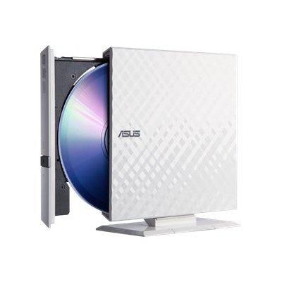 все цены на Внешний привод ASUS DVD±R/RW USB белый (SDRW-08D2S-U/DWHT) (SDRW-08D2S-U/DWHT/G/RUS/AS) онлайн