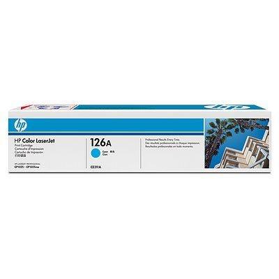 Картридж HP 126A (CE311A) для LJ CP1025 голубой (CE311A) картридж hp 126a ce312a yellow для laserjet cp1025 cp1025nw