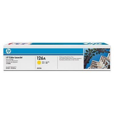Картридж HP 126A (CE312A) для LJ CP1025 желтый (CE312A) hp ce311a cyan для lj cp1025 1000стр