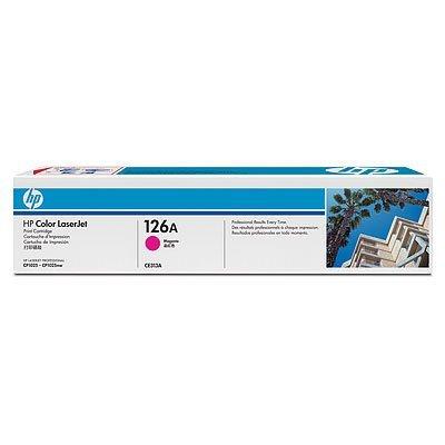 Картридж HP 126A (CE313A) для LJ CP1025 пурпурный (CE313A) hp ce311a cyan для lj cp1025 1000стр