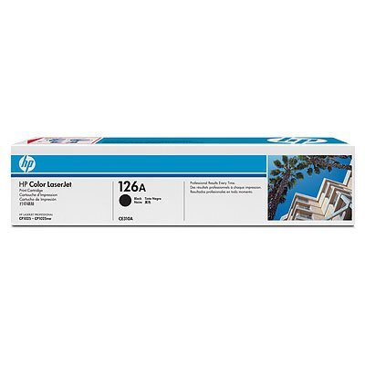 Картридж HP 126A (CE310A) для LJ CP1025 черный (CE310A) hp ce311a cyan для lj cp1025 1000стр