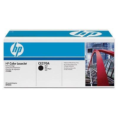 Kартридж HP (CE270A) для LaserJet CP5520 черный (CE270A)Тонер-картриджи для лазерных аппаратов HP<br>для LaserJet CP5520 13500 копий<br>