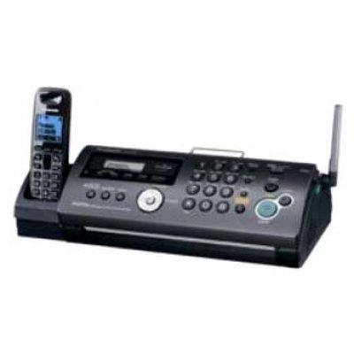 Факс Panasonic KX-FC268RU-T (KX-FC268RU-T)Факсы Panasonic<br>факс/копир с печатью на листах<br>печать методом термопереноса<br>модем 9.6 кбит/с<br>беспроводная трубка (DECT)<br>