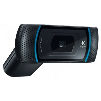 Веб-камера Logitech Webcam HD B910, 5MP, USB, Oem, [960-000684] (960-000684) камера интернет 960 000684 logitech hd webcam b910