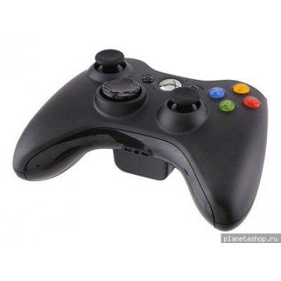 Геймпад Microsoft Xbox 360 беспроводной (NSF-00002) черный (NSF-00002)
