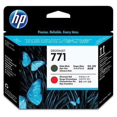 Печатающая головка HP № 771 (CE017A) Designjet Z6200 (CE017A)Печатающие головки HP<br>матовый черный/хроматический красный<br>