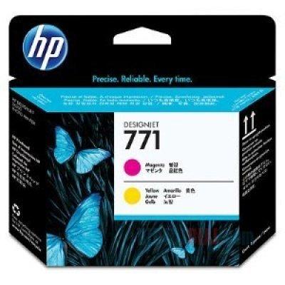Печатающая головка HP № 771 (CE018A) Designjet Z6200 (CE018A)Печатающие головки HP<br>(пурпурный/желтый)<br>