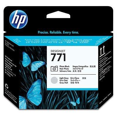Печатающая головка HP № 771 (CE020A) Photo Designjet Z6200 (CE020A)Печатающие головки HP<br>(черный/светло-серый)<br>