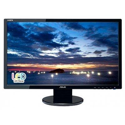 Монитор 24 Asus VE247H (90LMC2101Q01041C-)Мониторы ASUS<br>glossy-black 16:9 FullHD (2ms GTG) LED DVI HDMI M/M 10M:1 300cd<br>