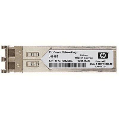 Трансивер HP X120 1G SFP LC SX (JD118B) кабель hp premier flex lc lc om4 2f 5m cbl qk734a