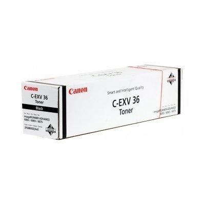Тонер (3766B002) Canon C-EXV36 Черный (3766B002)Тонеры для лазерных аппаратов Canon<br>Тонер с артикулом 3766B002 черного цвета, предназначен для использования в моделях аппаратов серии Canon iR ADVANCE 6055, iR ADVANCE 6065, iR ADVANCE 6075 и рассчитан на 56000 копий.<br>