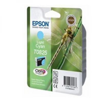 Картридж (C13T11224A10) Epson T08224A для R270/390/RX590  голубой (C13T11224A10)Картриджи для струйных аппаратов Epson<br>900 страниц (A4) при 5% заполнении<br>