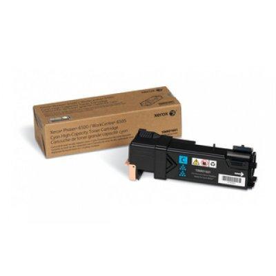 Принт Картридж Phaser 6500 / WorkCentre 6505 Голубой повышенной емкости (2500 images) (106R01601)Тонер-картриджи для лазерных аппаратов Xerox<br>Голубой картридж<br>
