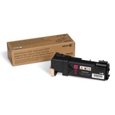 Принт Картридж Phaser 6500 / WorkCentre 6505 Пурпурный повышенной емкости (2500 images) (106R01602)Тонер-картриджи для лазерных аппаратов Xerox<br>Пурпурный картридж<br>