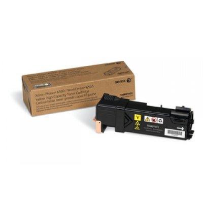 Принт Картридж Phaser 6500 / WorkCentre 6505 Желтый повышенной емкости (2500 images) (106R01603)Тонер-картриджи для лазерных аппаратов Xerox<br>Желтый картридж<br>