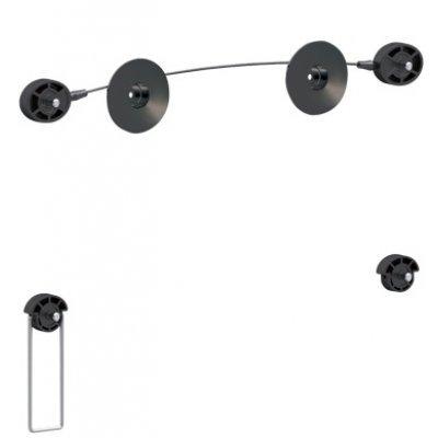 Кронштейн настенный Arm Media LED-2 26-63 (LED-2)Кронштейн для ТВ и панелей Arm Media<br>Для тонких LED TV, 26-63,  VESA 600*600, настенный, 0 ст. свободы, max 50 кг, 14,5 мм от стены, черный<br>