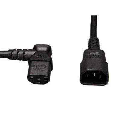 Кабель питания Tripp Lite P004-002-5 (P004-002-5)Кабели питания PDU Tripp Lite<br>C13/14, 100-230V, 10A, 18Awg, SVT, упаковка 5 штук, 2&amp;amp;#039; (60 см)<br>