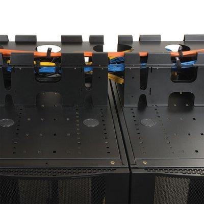 Вертикальный расширитель кабельного желоба для верхней прокладки Tripp Lite SmartRack Expansion Lid for Above Cable Trough (SRCABLETRAYEXP) кабель питания tripp lite p036 006 p036 006