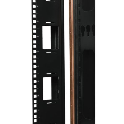 Фото Copper Bus Grounding Bar for rack enclosures and open frame racks.