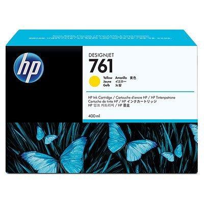 Картридж HP 761 желтый (CM992A) (CM992A)Картриджи для струйных аппаратов HP<br>с желтыми чернилами для принтеров Designjet, 400 мл<br>