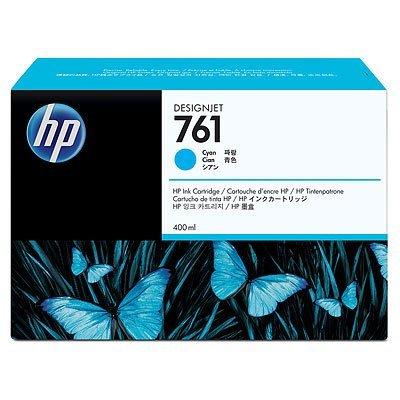 Картридж HP 761 голубой (CM994A) (CM994A)Картриджи для струйных аппаратов HP<br>с голубыми чернилами для принтеров Designjet, 400 мл<br>