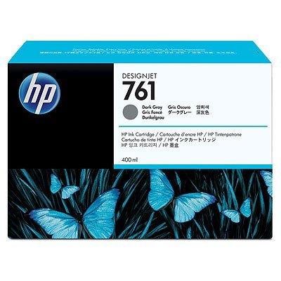 Картридж HP 761 темно-серый (CM996A) (CM996A)Картриджи для струйных аппаратов HP<br>с темно-серыми чернилами для принтеров Designjet, 400 мл<br>