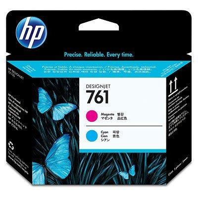 Печатающая головка HP 761 Designjet (CH646A) пурпурный/голубой (CH646A)Печатающие головки HP<br>для плоттеров<br>