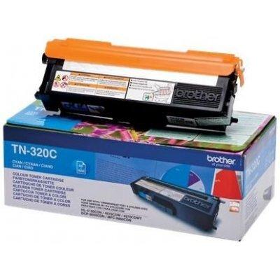 Картридж Brother TN320C (TN320C) лазерный картридж brother tn 230c голубой для hl3040 dcp9010cn mfc9120cn